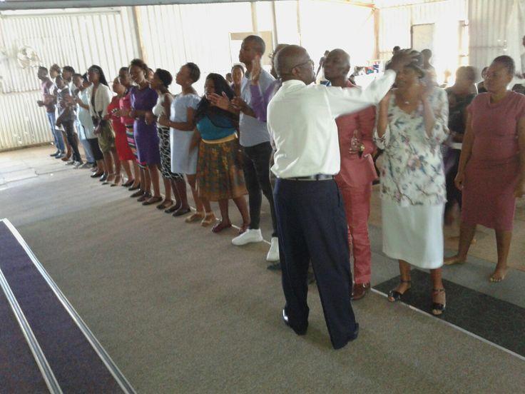 "Bishop M Ndakana  ""Receive the Grace of God"""