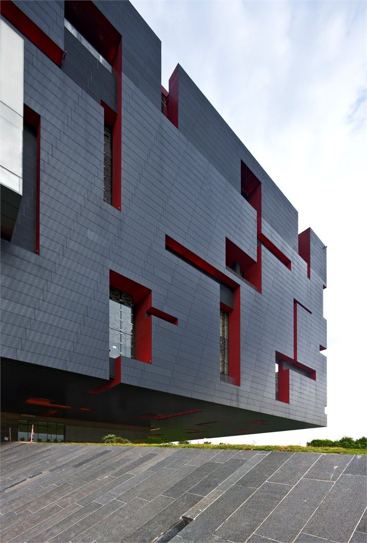 #Guangdong #Museum, #Guangzhou, 2010 by Rocco #Design Architects #architecture #china