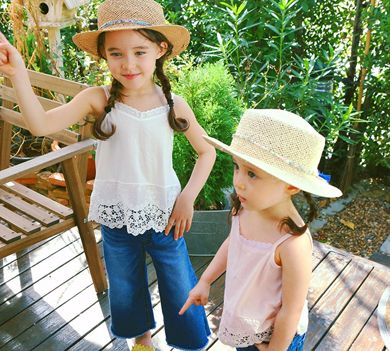 AMBER - BRAND - Korean Children Fashion - #Kfashion4kids - Rattie Sleeveless Top