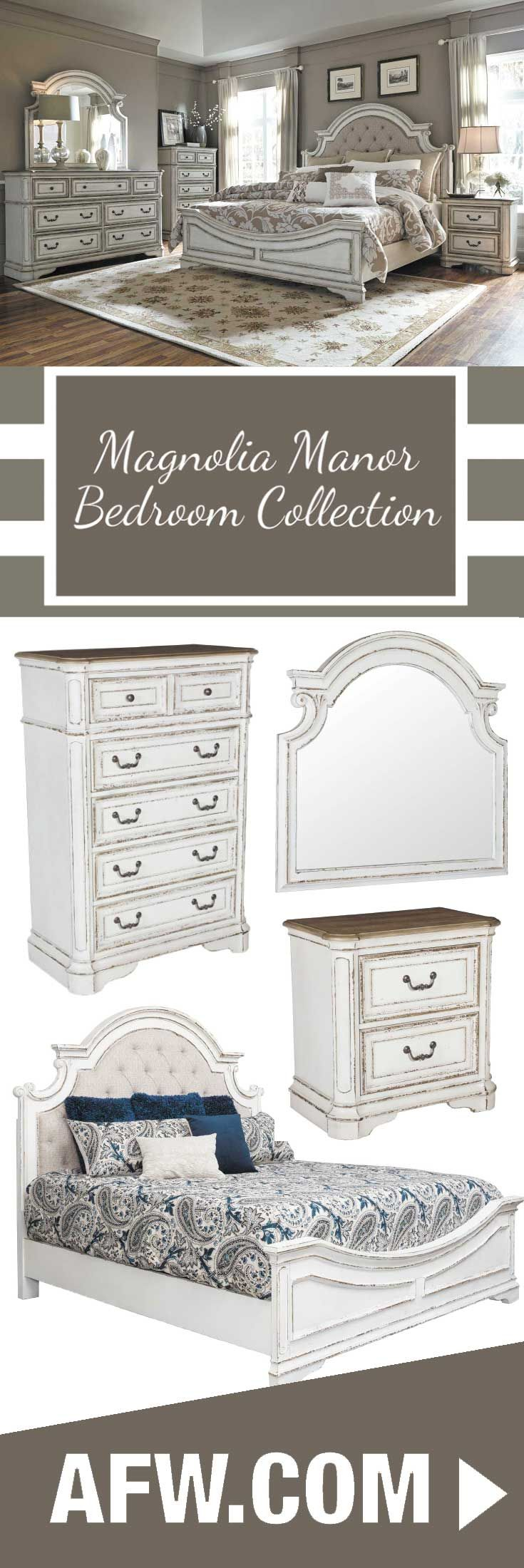 Addition union furniture pany antiques likewise union furniture pany - Bring The Refined Charm Of The French Country To Your Bedroom With The Magnolia Manor Bedroom Collection By Liberty Furniture The Antique Pewter Hardware