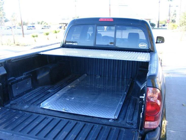 Silverado Running Boards >> Home Made Diamond Plate Tonneau Cover | Truck bed covers, Tonneau cover, Diy truck interior
