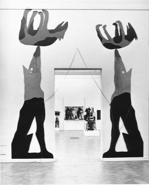 El Kazovszkij (1948-2008), Sivatagi homokozó X. Műcsarnok, Budapest, 1990