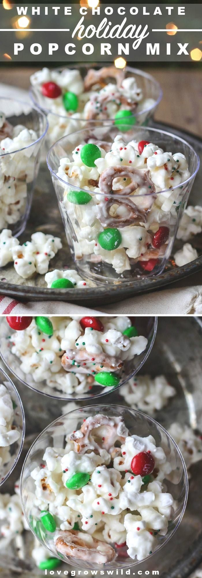 how to make popcorn mix