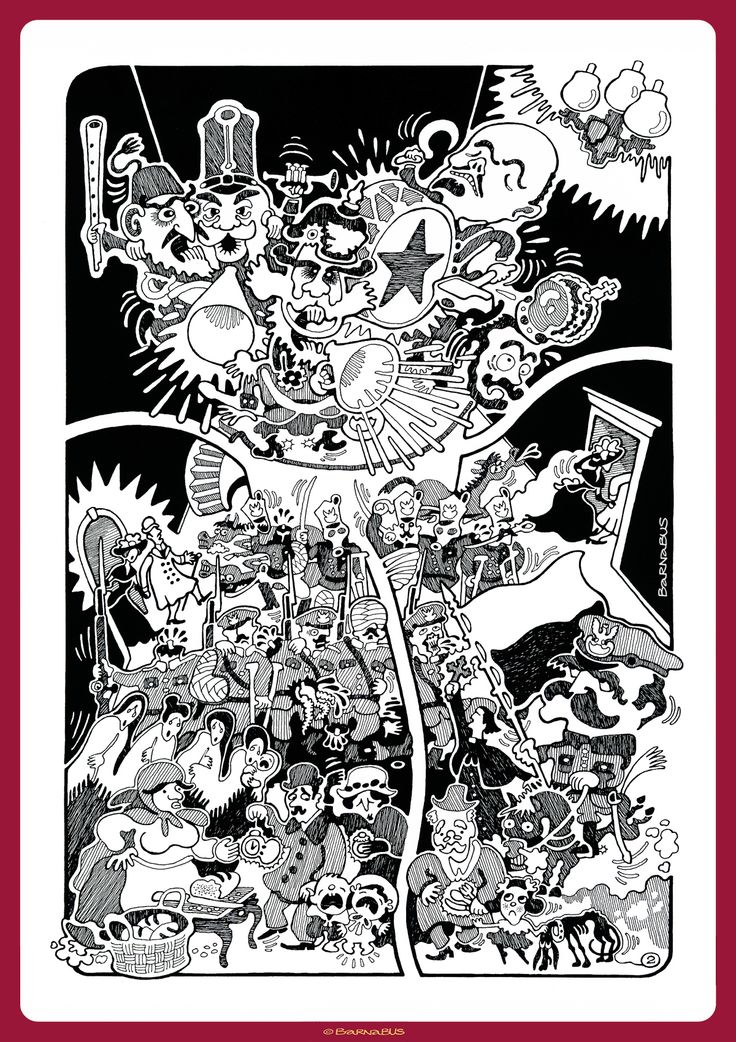 © Barnabus - Sen ▪ Dream? - #komiks bez słów ▪ silence #comics - page 02.