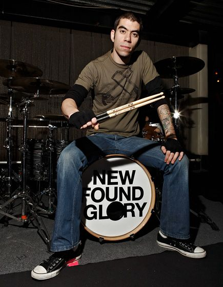 Cyrus Bolooki, is an Iranian-American drummer of New Found Glory