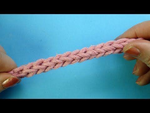 Начинаем вязать – Видео уроки вязания » Такого жгутика вы наверняка не видели! Урок вязания крючком №362