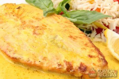 Receita de Salmão ao molho de mostarda em receitas de peixes, veja essa e outras receitas aqui!