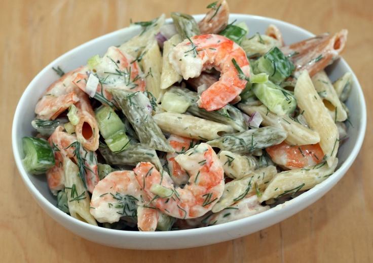 Lemon-Dill Shrimp and Pasta Salad // Coconut & Lime: recipes by Rachel ...