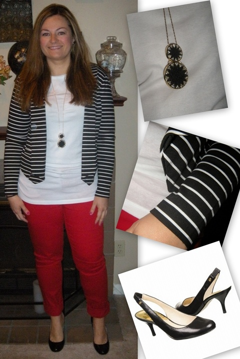 Red Jeans and Stripes: Daily Outfits, Outfits Inspiration, Cute Outfits, Outfits Ideas
