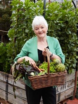 September in Stephanie Alexander's kitchen garden