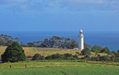 Table Cape Lighthouse overlooking Bass Strait.