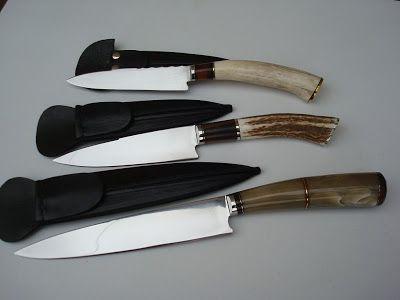 CUCHILLOS ALBANO - ALBANO KNIVES HANDMADE (Cuchillos Criollos): Tres más...