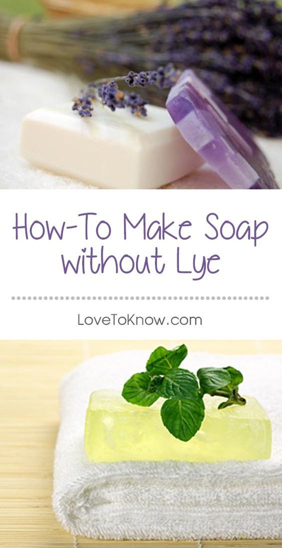 How Do You Make Natural Soap Without Lye