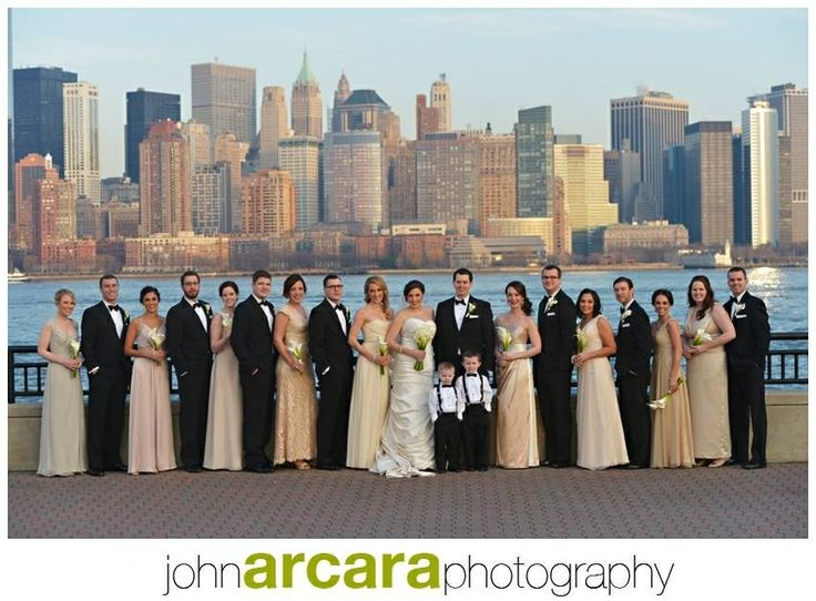 Wedding Dress John Arcara Photography Liberty House Jersey City New