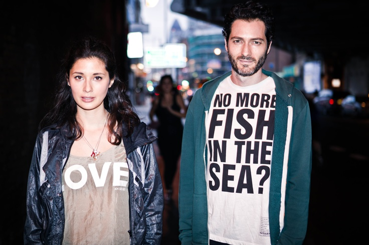 Hemsley & Hopper in Katherine Hamnett T shirts    http://www.katharinehamnett.com/
