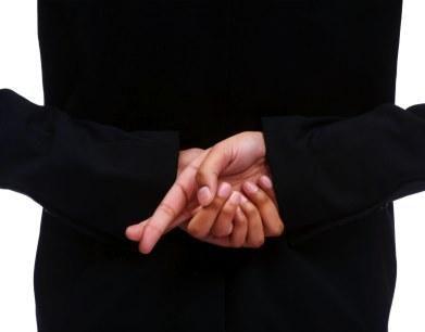 Body Language Signs of Lying [Slideshow]