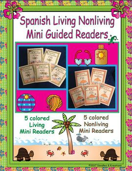 Help you students learn about Living and Nonliving things with these beach themed mini guided readers. Included: *5 Living Things Mini Books Living Things in the Sand Living Things in the Air Living Things in the Water Living Things Plants