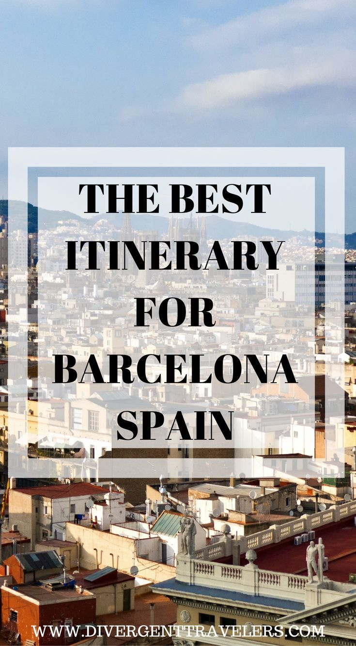 The best Itinerary for Barcelona, Spain. Barcelona is one of those cities that tends to polarize travelers. Some love it and stay for several weeks, Click to read our 3 Day Barcelona, Spain Itinerary – Things to Do in Barcelona, Spain. #Travel #Spain #Barcelona