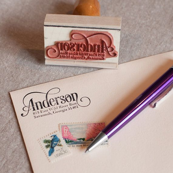 Hey, I found this really awesome Etsy listing at https://www.etsy.com/listing/176480509/custom-return-address-stamp-serif-script