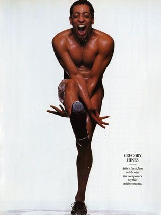 Gregory Hines photographed by Michel Comte #dance