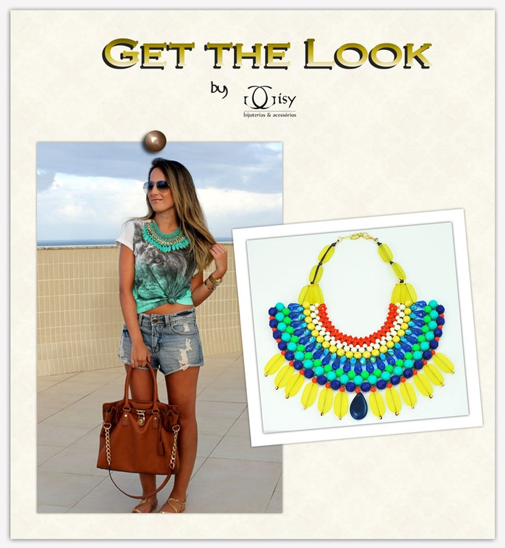 maxi necklace | maxi colar | Color Acessorize
