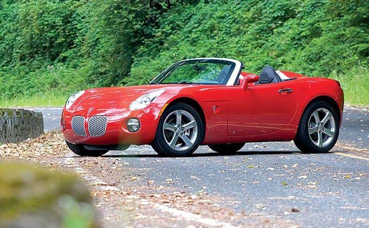 Solstice Car Clubs | 2007 Pontiac Solstice Gxp Front Side View