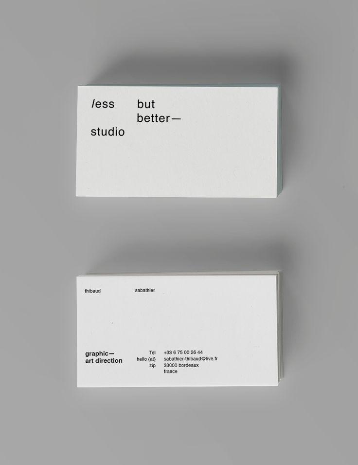 Thibaud Sabathier / LBB / identity