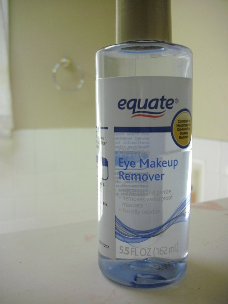 WalMart eye makeup remover...the best and the cheapest!