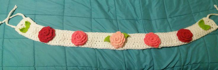 Inspiration. Roses. Crochet. Ganchillo. Love. Bedroom ideas ♡