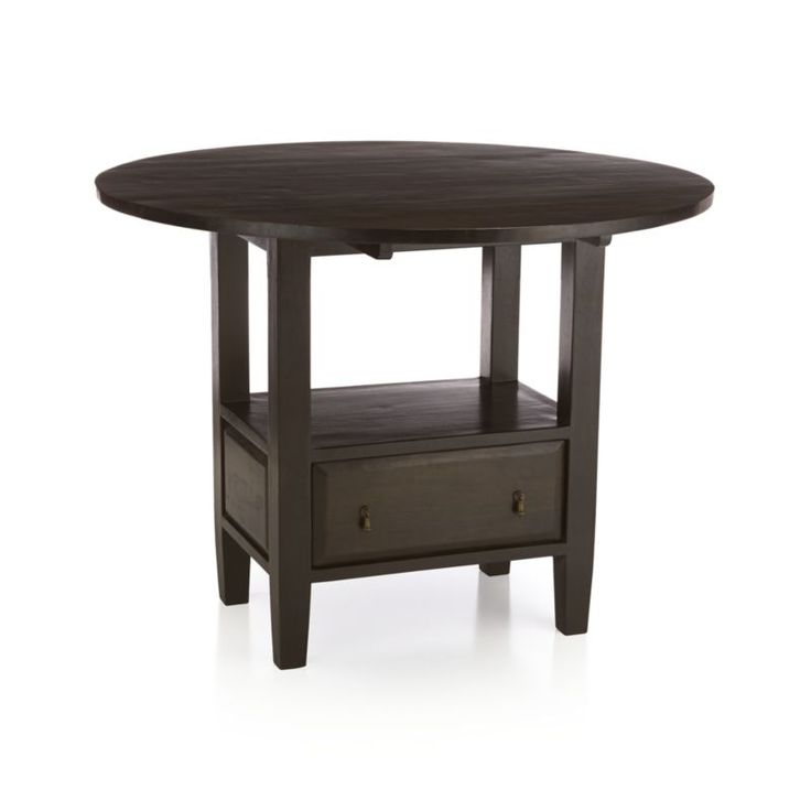 High Top Kitchen Table With Drop Down Sides