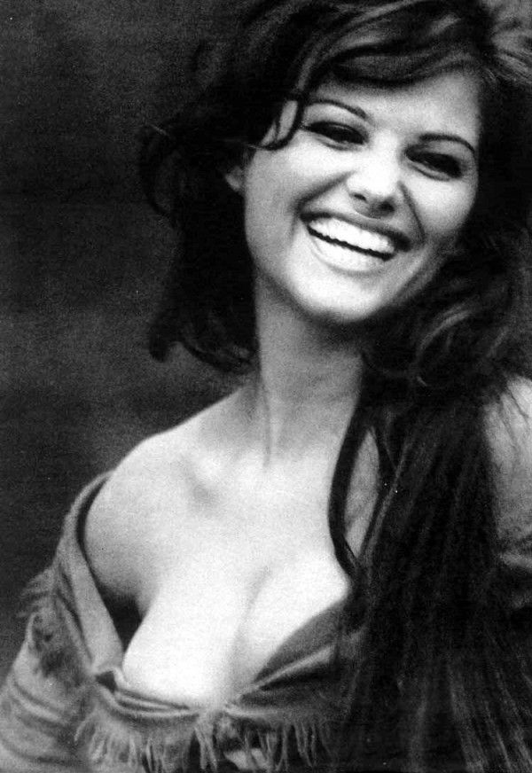 Claudia Cardinale/••••Italian beauty who became an actress.  The only movie I remember her in was (I think) How the West Was Won, w/Henry Fonda, Lee Van Cleef and ?Steve McQueen?