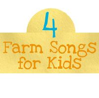 These farm songs for kids are perfect for the spring season - although can of course be sung at any time of year! Perfect for a preschool farm theme!