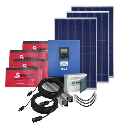 3Kva PV Power Pack (Gel & Poly)