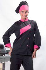 PAGAMENTO ANCHE ALLA CONSEGNA Giacca Donna Cuoco Chef da lavoro Ristorante Abbigliamento Abiti