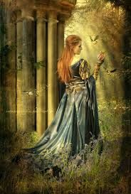 In Irish mythology, Clíodhna (Clídna, Clionadh, Clíodna, Clíona, but sometimes Cleena in English) is a Queen of the Banshees of the Tuatha Dé Danann. Cleena of Carrigcleena is the potent banshee that rules as queen over the sidheog (fairy women of the hills) of South Munster, or Desmond.[1] She is the principal goddess of this country.