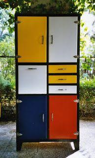 crea vintage mueble de cocina de los aos