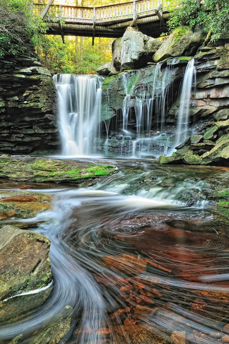 Elakala Falls by Ernie Page, Blackwater Falls State Park, West Virginia