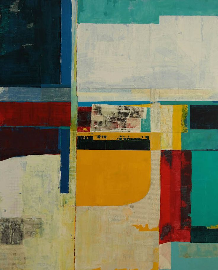 """timhallinan:  Just Finished Mixed Media on Canvas, 30"""" x 36"""", 2014"""