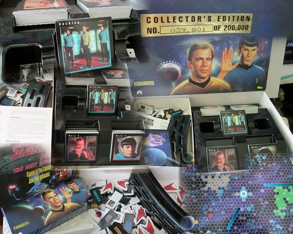 Two Star Trek Board Games 1992 Classic Limited by Collectique