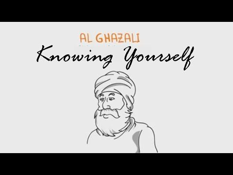 Imam Al Ghazali Advice on Knowing Yourself - #SpiritualPsychologist - YouTube