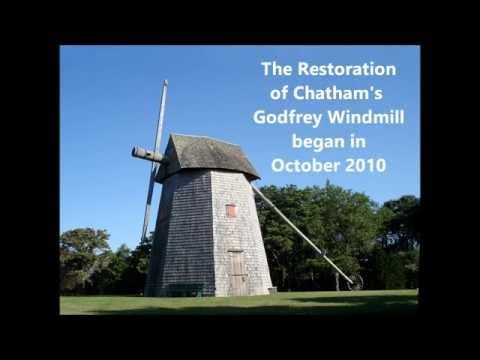 By 2009 the Godfrey Windmill was in great need of some TLC. With funding provided through a Community Preservation Act grant, the process of restoring the windmill began. The first visible signs of the restoration were in October 2010, and the historic restoration of the Godfrey Windmill was completed in 2012, the same year that the Town of Chatham celebrated its 300th Anniversary. To learn more about this historic Cape Cod grist mill, visit ChathamWindmill.com