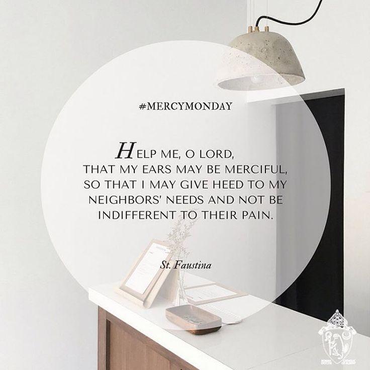 #MercyMonday #YearofMercy #MotivationalMonday #OurCatholicStory