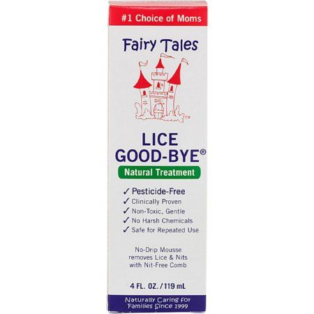 Fairy Tales Lice Good-Bye Nit Removal System w/ Comb 1 kit (Pack of 4)