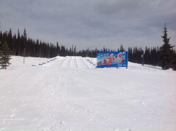 Tube park, Big White Ski Resort