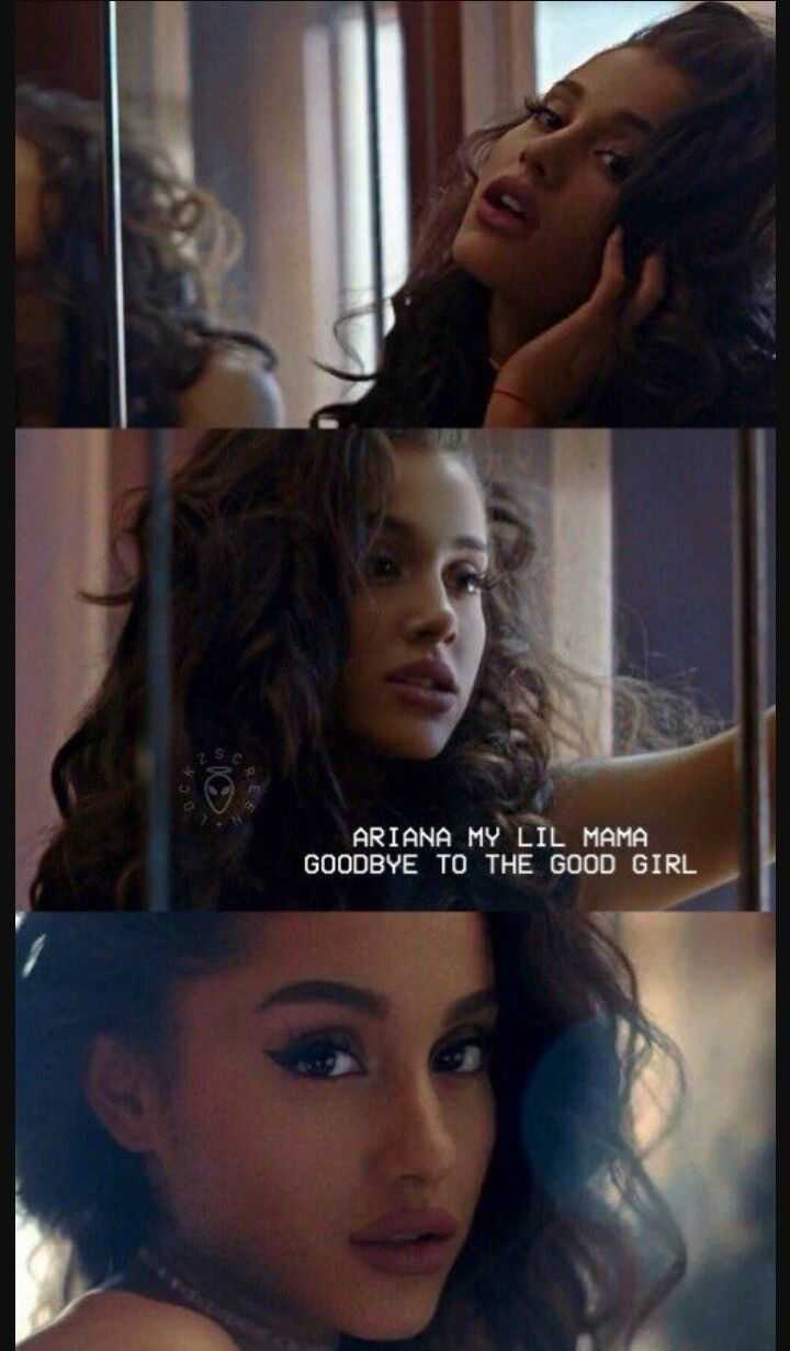 Ariana my lil mama,goodbye to the good girl #letmeloveyoumusicvideo
