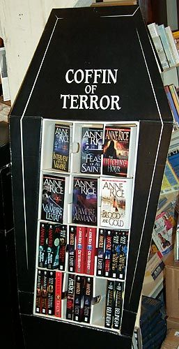 Anne Rice book display