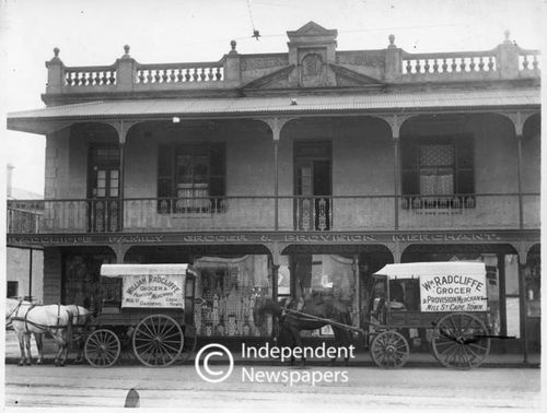 Radcliffe Grocer and Provision Merchants, Cape Town