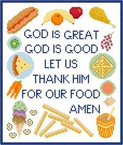 Child's Meal Prayer