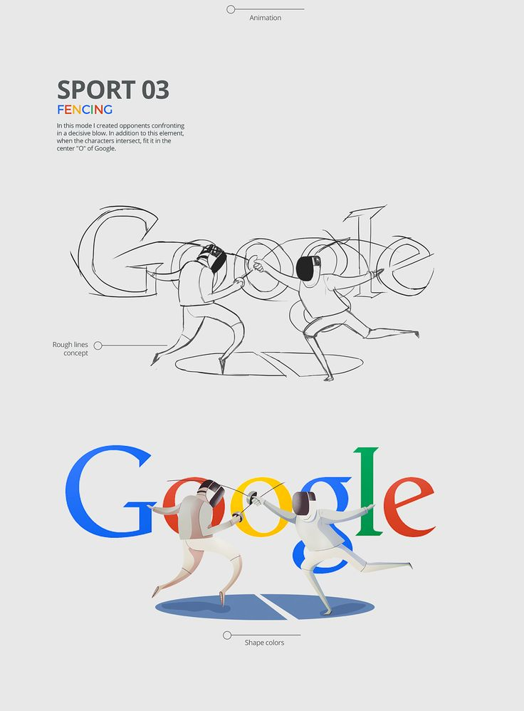Rio 2016 Olympic Games Google Doodle | Abduzeedo Design Inspiration