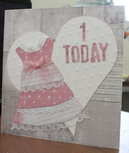 1st Birthday card
